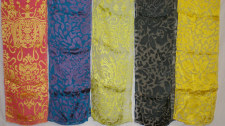 Silk and Rayon Scarves